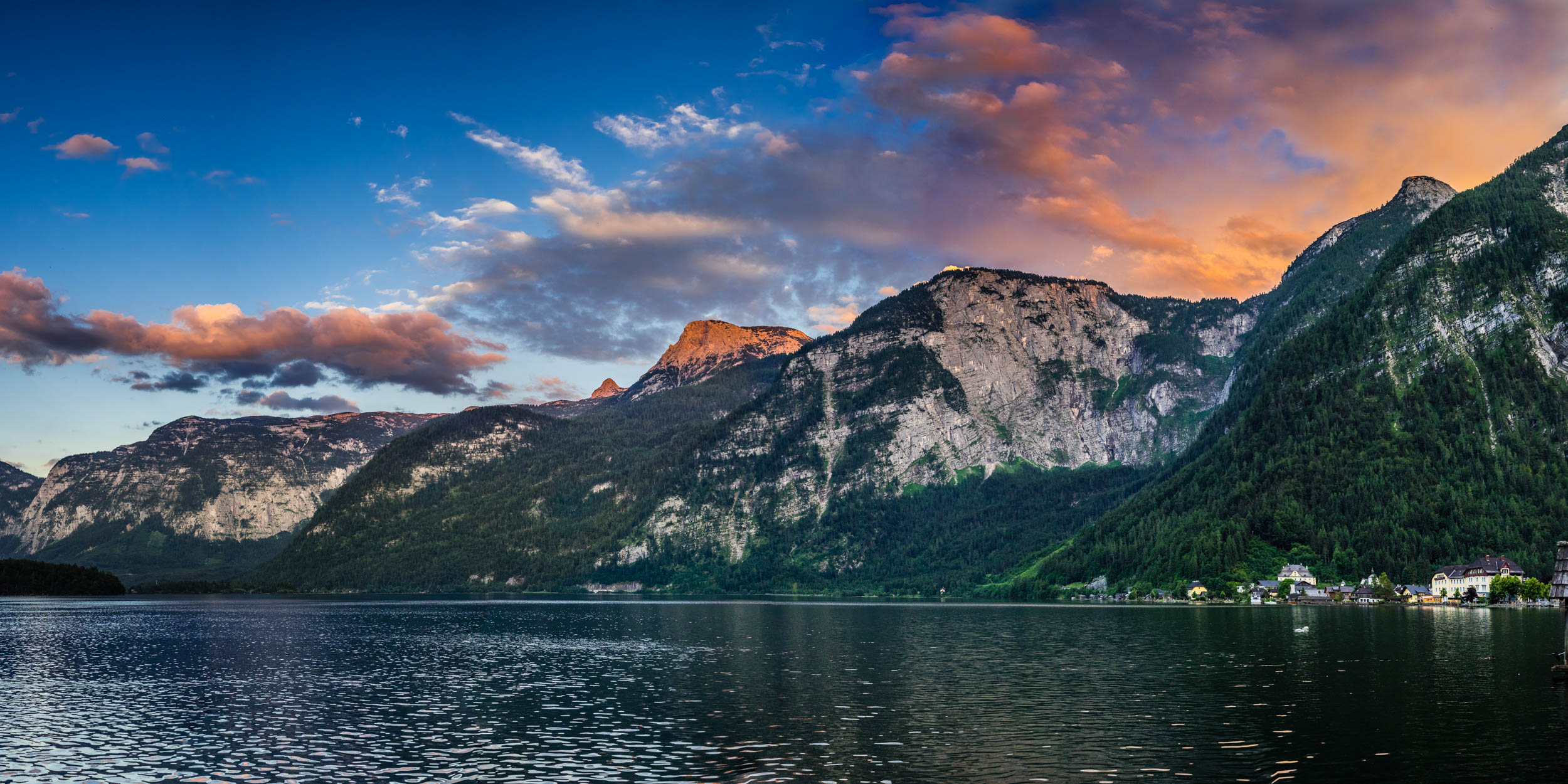 Hallstatt Sunset (1x2)