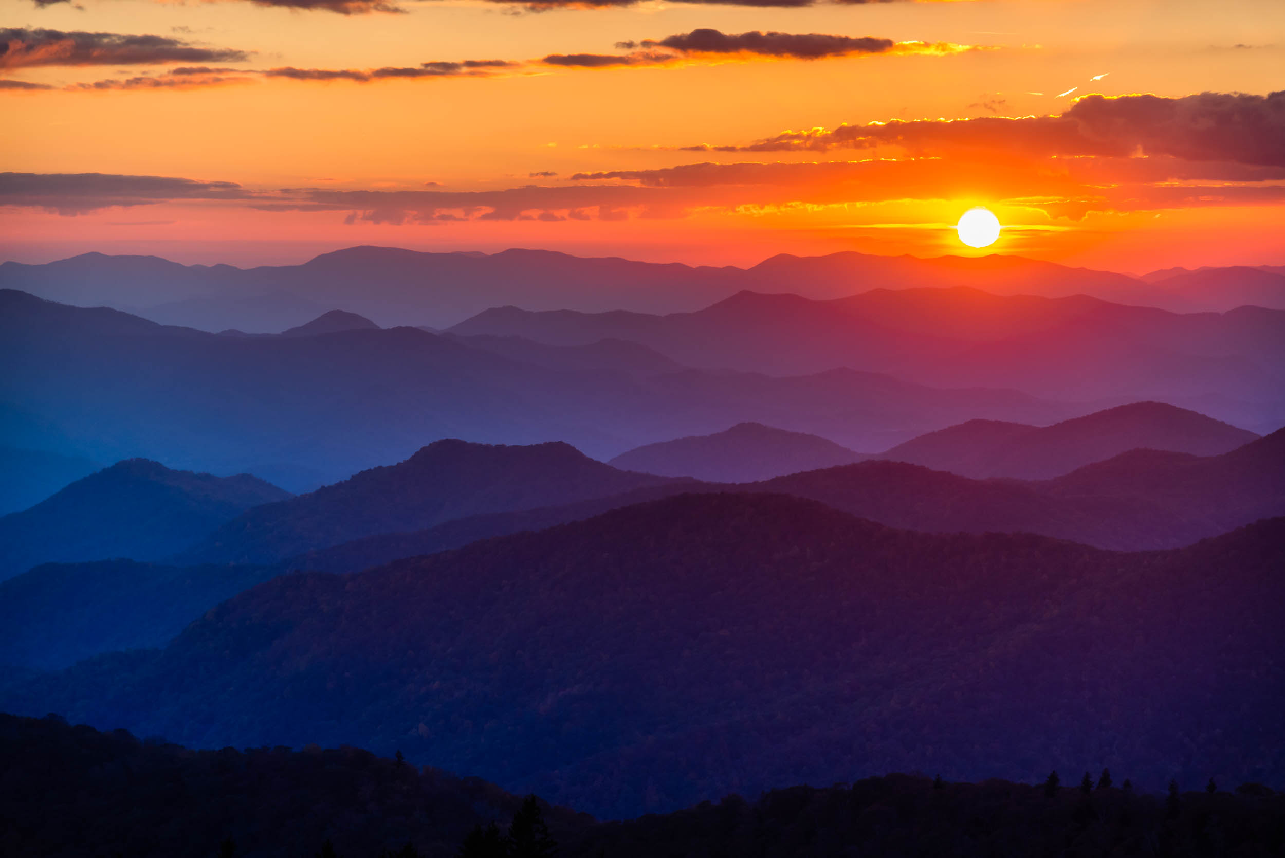 Blue Ridge Sunset 2