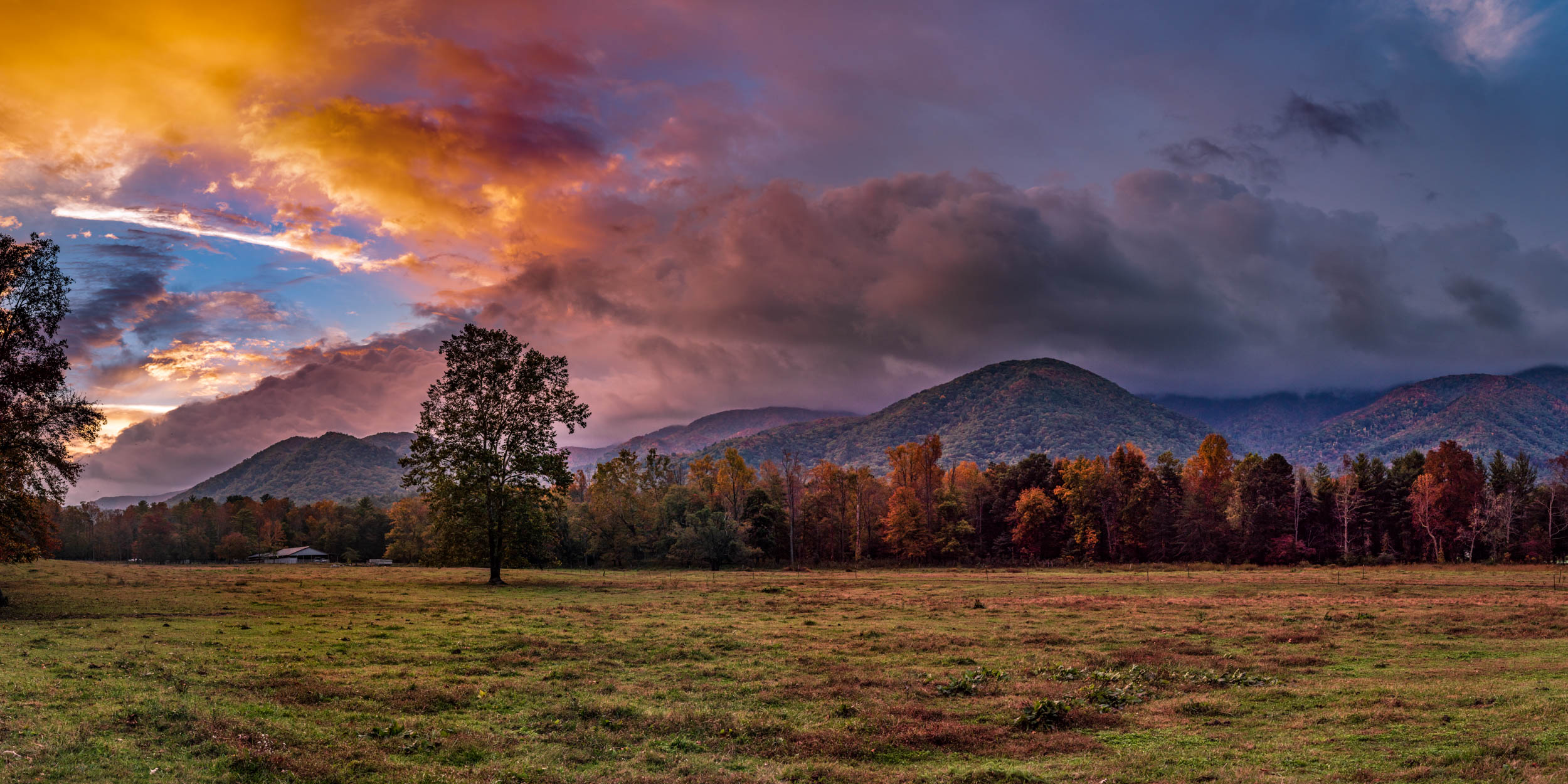 Cades Cove Sunrise 2