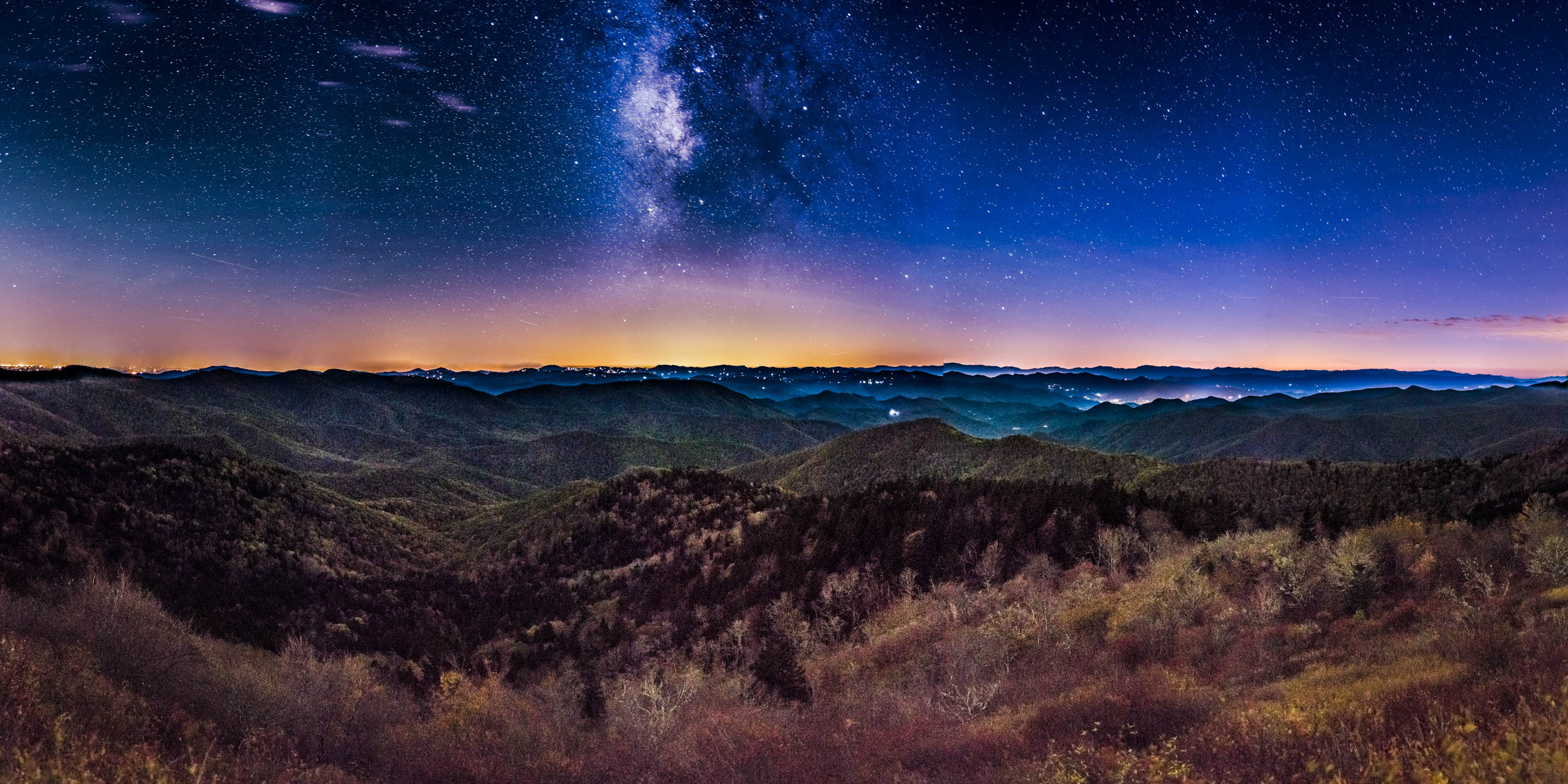 Cowee Mountain Milky Way