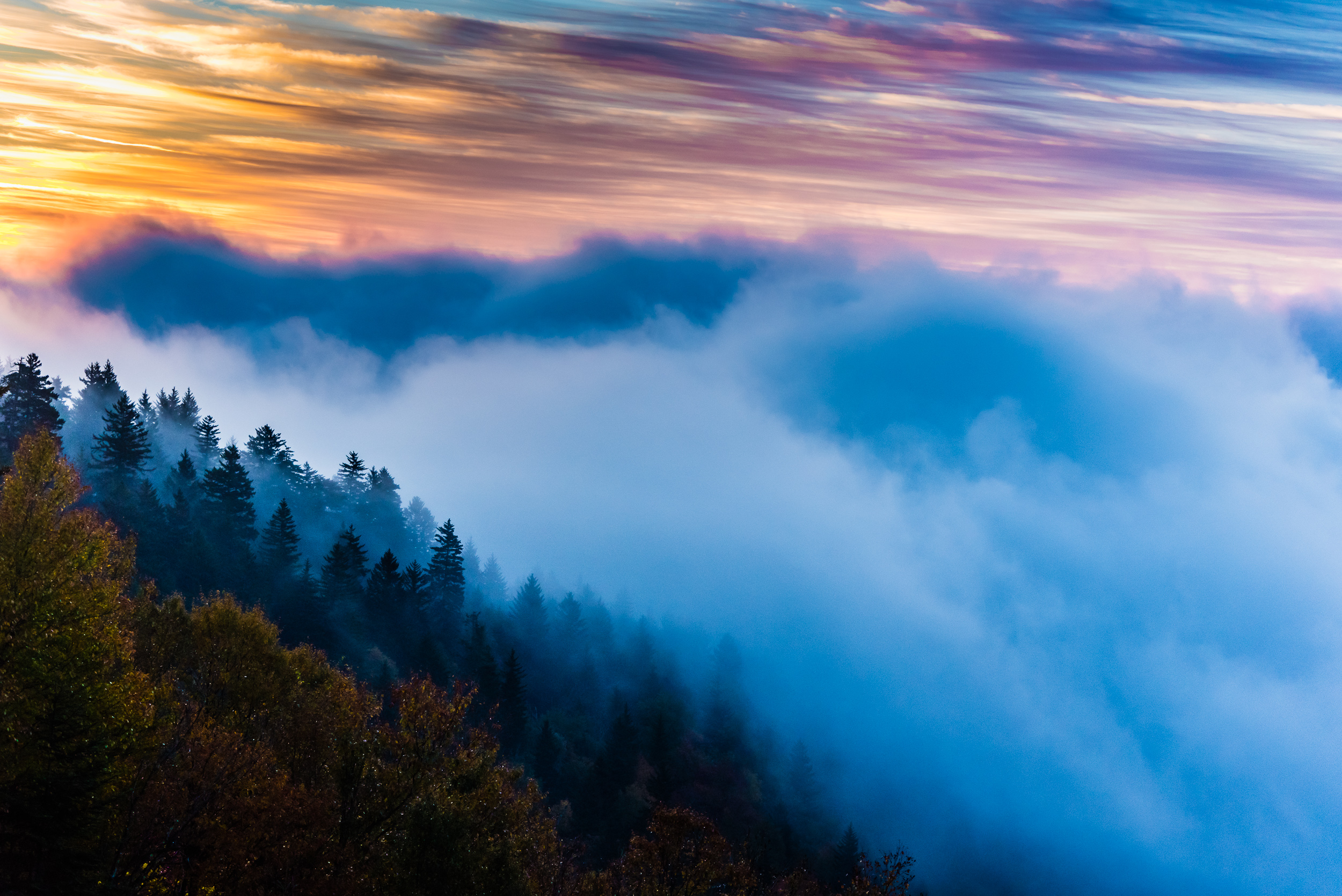 ridge at sunrise