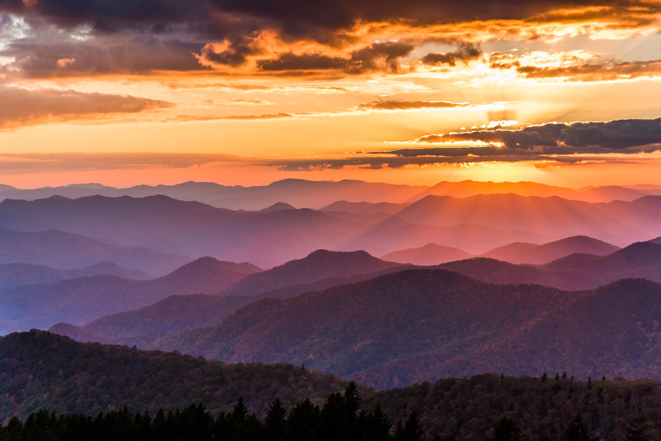 Blue Ridge Sunset 1