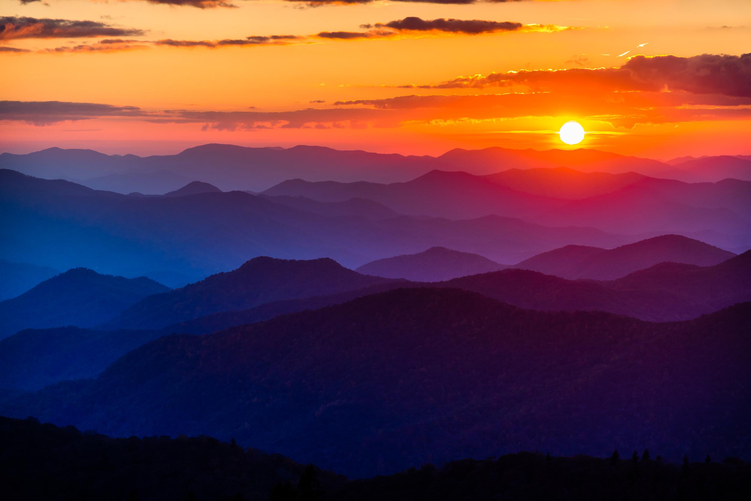 Blue Ridge Sunset 2