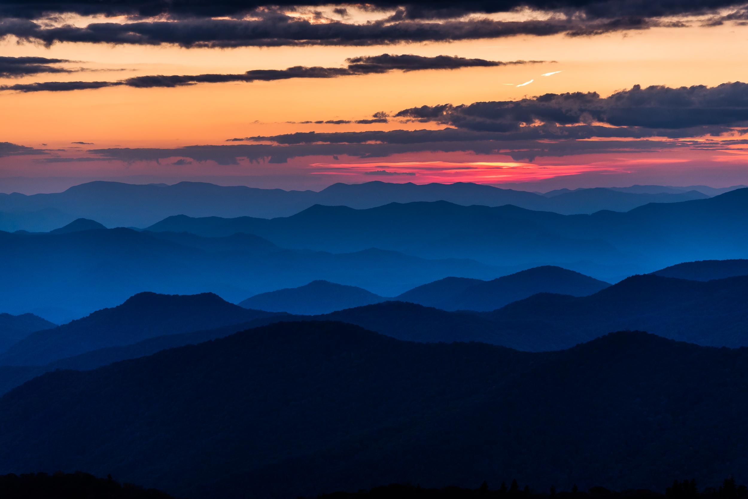 Blue Ridge Sunset 3