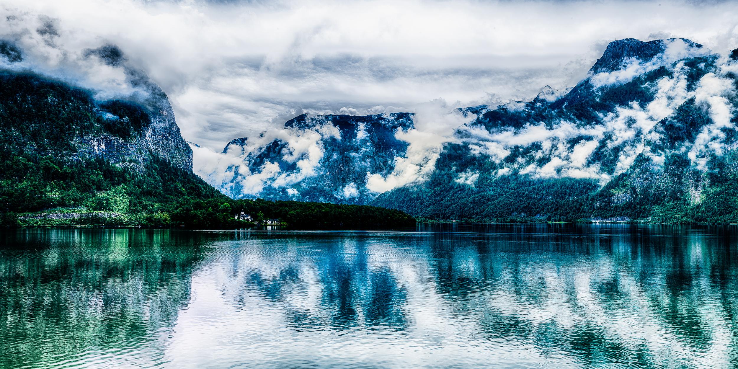 Hallstatt Lake (1x2)